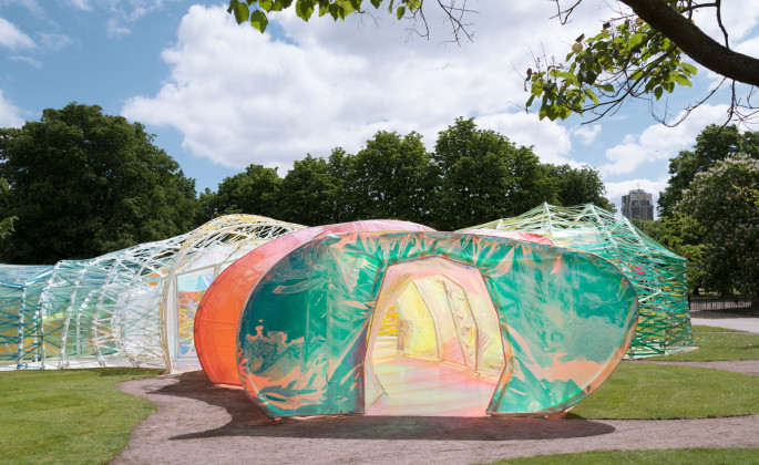Serpentine Pavilion Kensington Gardens