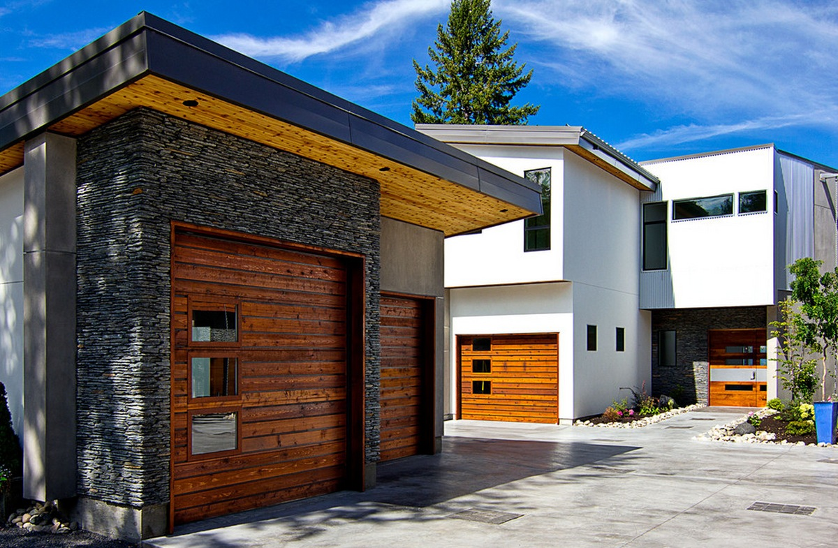 Modern garage doors for your home