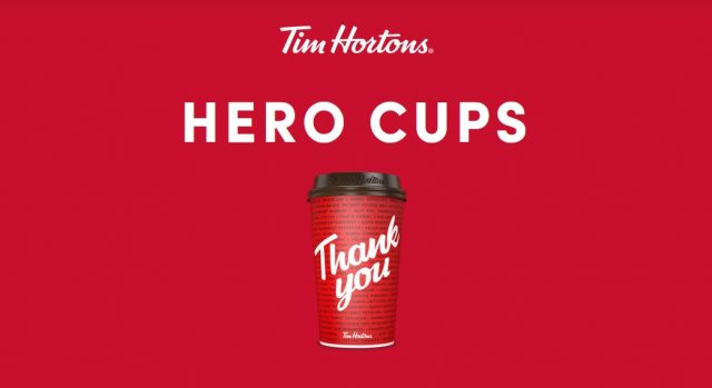 covid 19 hero cups