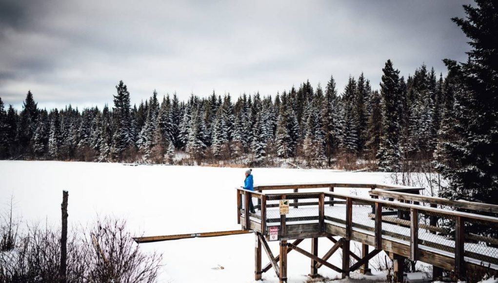 Winter Outdoors in Prince George