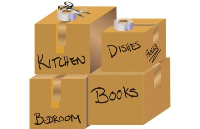 graphic of packing boxes